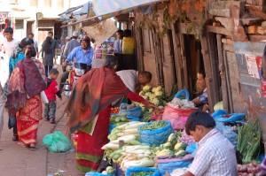 Gemüsehändler in Kathmandu