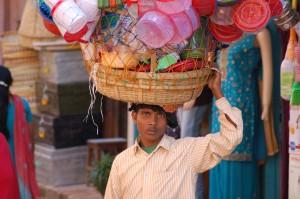 Händler in Kathmandu.