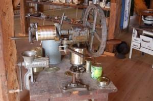 Im Kohlmuseum wird gezeigt, wie Kohl in vergangenen Zeiten geerntet und verarbeitet wurde.