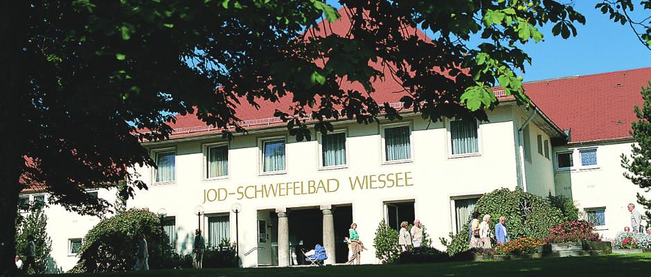Das Jod-Schwefel-Bad in Bad Wiessee