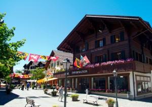 Gstaad- kein quirliger Jet-Set-Ort