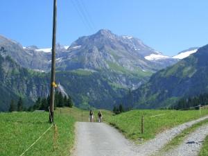 Sommerfrische in Gstaad