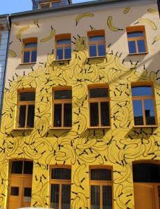 Fassadengestaltung von Graffiti-Künstler Thomas Baumgärtner