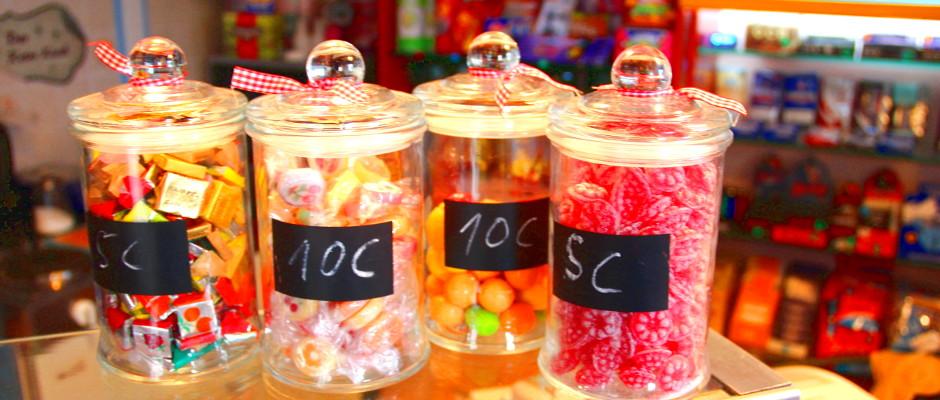 Bonbons in der BonBonBude