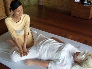 Thaimassagen können schmerzhaft sein