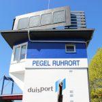 Pegel Ruhort in Duisburg