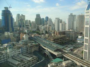 Großstadtmoloch Bangkok