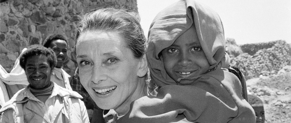 Audrey Hepburn als UNICEF-Botschafterin
